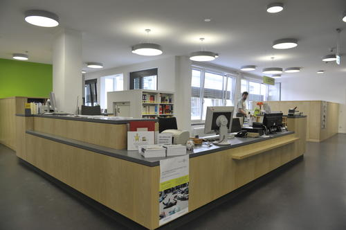 Law Library - front desk