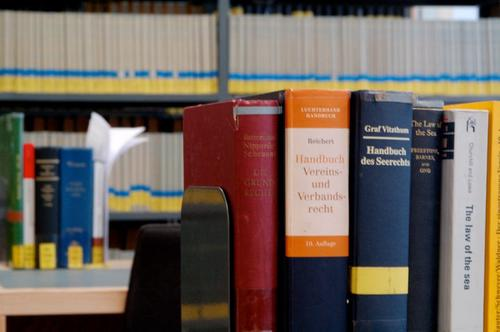 Our well-equipped library is a good place to study for exams.