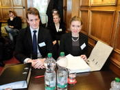Counsels for Applicant, the State of Amalea: Jim Hirschmann, Laura Müller and Anna Bußmann-Welsch