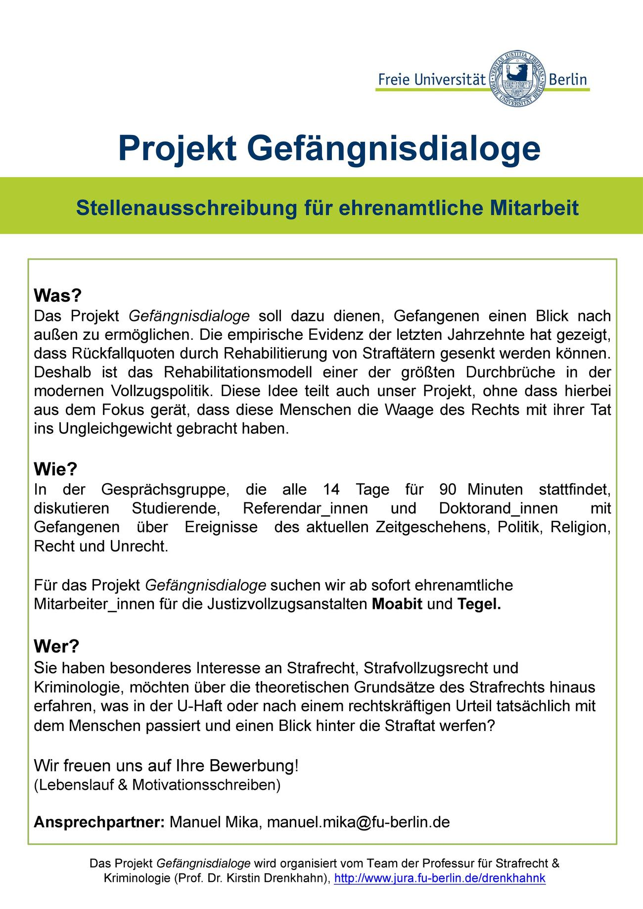 Gesprächsgruppe • Univ.-Prof. Dr. Kirstin Drenkhahn • Fachbereich ...