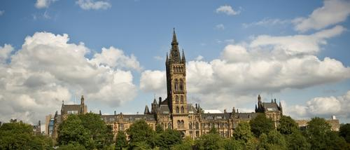 University of Glasgow - Aerial View