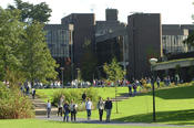 University of Limerick Main Building and Plaza